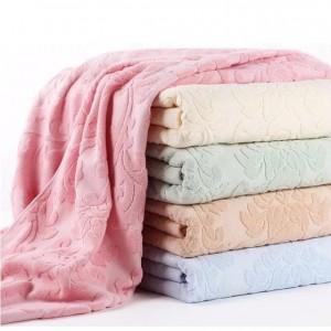 特級3D全棉毛巾被